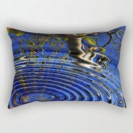 A drop in the ocean Rectangular Pillow