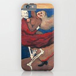 DANCING DEATH - HUGO SIMBERG iPhone Case