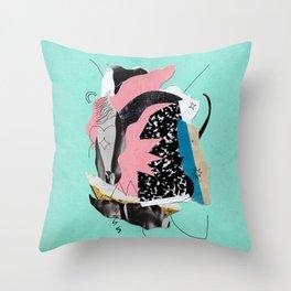 Finite=alright Throw Pillow