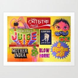 """""""TASTE OF INDIA"""" Art Print"""