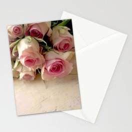 A Rosey Pastel Stationery Cards