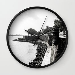 The Forts of Old San Juan - Photo Wall Clock