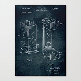 1965 - Playing card dispenser Canvas Print