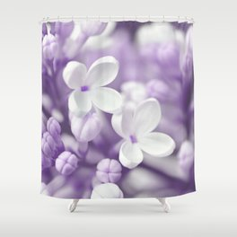 Lilac 167 Shower Curtain