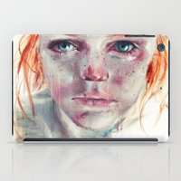 agnes iPad Cases featuring my eyes refuse to accept passive tears by agnes-cecile