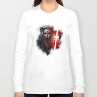 darth Long Sleeve T-shirts featuring Darth Nihilus by Vincent Vernacatola