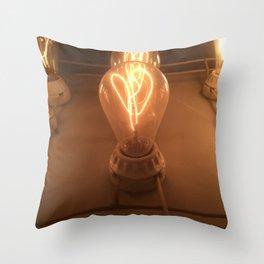 Bright Idea Throw Pillow