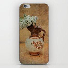 Vintage Greek Vase And Yarrow iPhone Skin