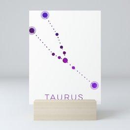 TAURUS STAR CONSTELLATION ZODIAC SIGN Mini Art Print