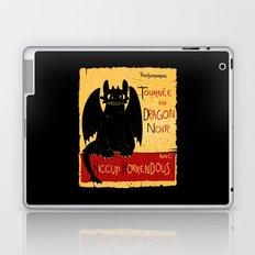 Dragon noir Laptop & iPad Skin