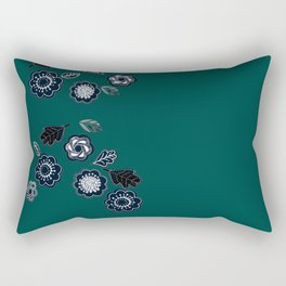 Forest Green not Forest Gump Rectangular Pillow