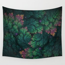 Cosmic Flora Wall Tapestry