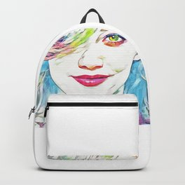 Hilary Duff (Creative Illustration Art) Backpack
