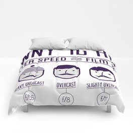 Sunny 16 - 2012 edition Comforters