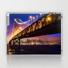 Bay Bridge at Sunset Laptop & iPad Skin