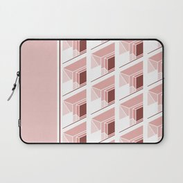 Architectural geometric print - Balconies Laptop Sleeve