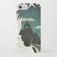 edward scissorhands iPhone & iPod Cases featuring Edward Scissorhands by Fontolia (Katie Blaker)