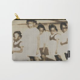 Five Little Girls Carry-All Pouch