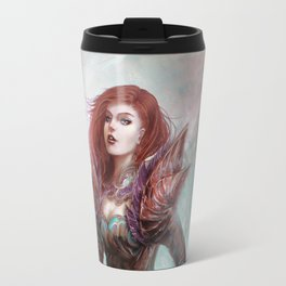 Diamond in the rough - Fantasy magic girl character concept Travel Mug