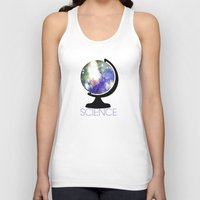 science Tank Tops featuring Science! by Bunhugger Design