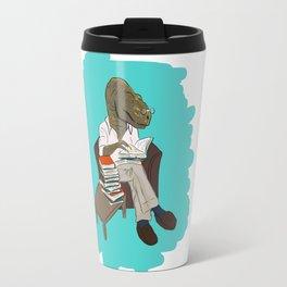 Professor Dinosaur Travel Mug