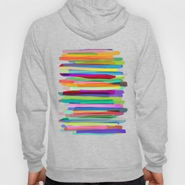 Colorful Stripes 1 Hoodie