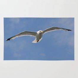 Seagull patrol  Rug