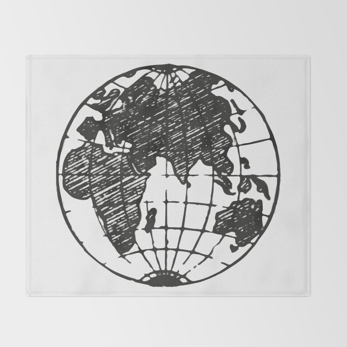 World Throw Blanket