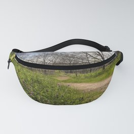 Troubled summer woods Fanny Pack