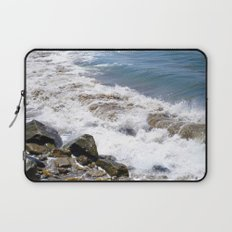 The Rocky Shores of San Pedro Laptop Sleeve