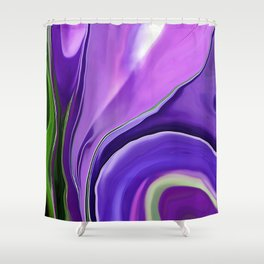Crocus Abstract16 Shower Curtain