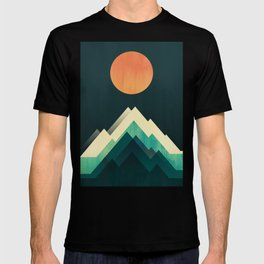 Ablaze on cold mountain T-shirt