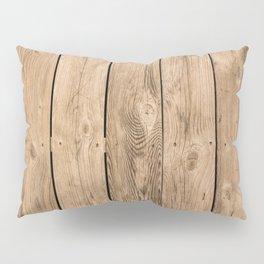 Wood I Pillow Sham