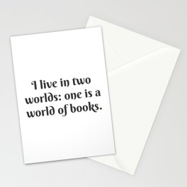 A World of Books Stationery Cards