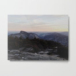 Linville Gorge Winter Metal Print