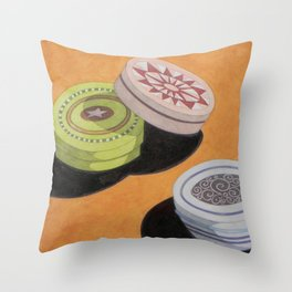 Small bowls n. 3 Throw Pillow