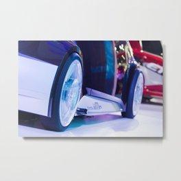 Toyota iiMo Wheels Metal Print