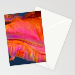 Rainbow Parrot Tulip by Teresa Thompson Stationery Cards