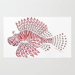 Tribal Lionfish Rug