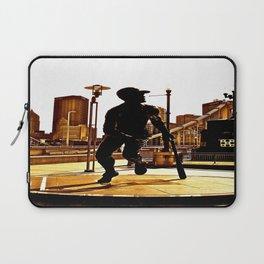 Roberto's Shadow Lives In Roberto's City Laptop Sleeve