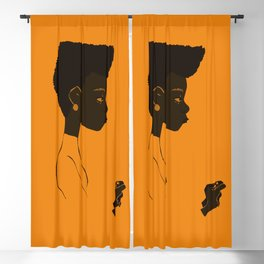 The black art Blackout Curtain