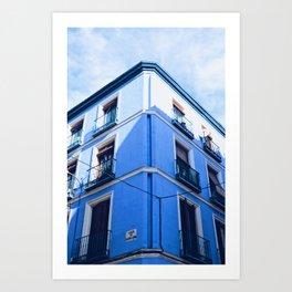 Blue Summer Day Art Print