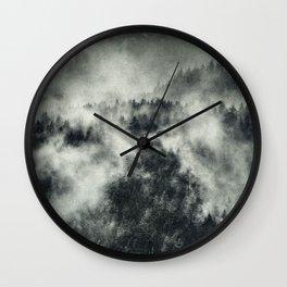 Recently // Dark Boogie Edit Wall Clock