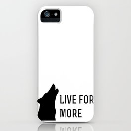 Live for More - Red Rising iPhone Case