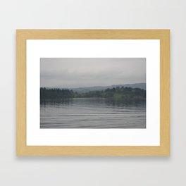 Lake Windermere, Lake District, England, United Kingdom UK Framed Art Print