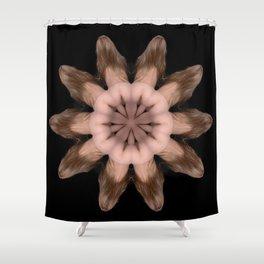 K-5067 Intimate Sexual Mandala Nude Female Naked Closeup Vulva Abstracted Sensual Sexy Erotic Art Shower Curtain