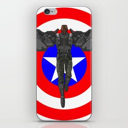 Falcon Volant iPhone Skin
