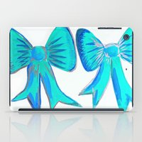 bows iPad Cases featuring Bows by Samaa Ahmed