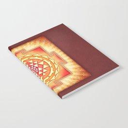 Sri Yantra XVI.I Notebook