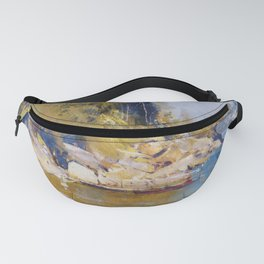 Arthur Streeton - From My Camp, Sirius Cove (1896) Fanny Pack